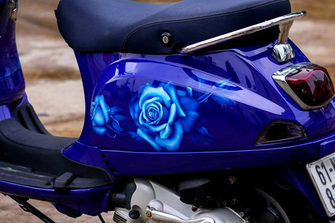Sơn 3d xe máy đẹp