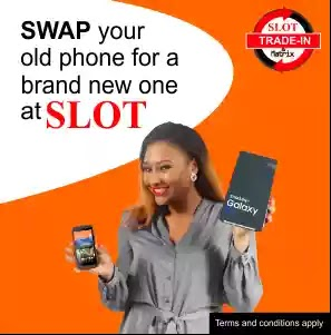 swap old phone at slot