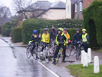 On the John Snuggs Memorial ride, near Manningtree