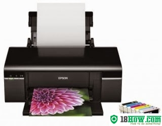 How to Reset Epson T1110 flashing lights error
