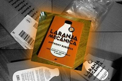 laranja mecanica - unboxing