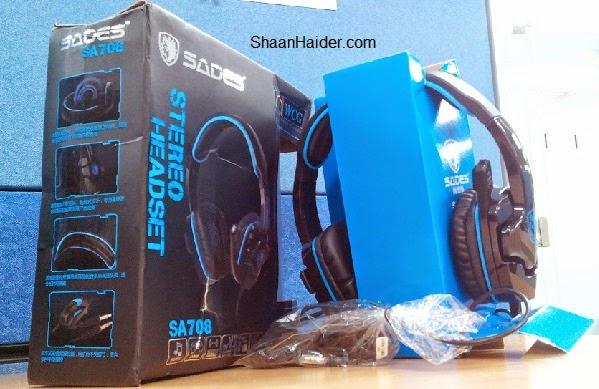 Sades SA 708 Gaming Headset : Hands-On Review