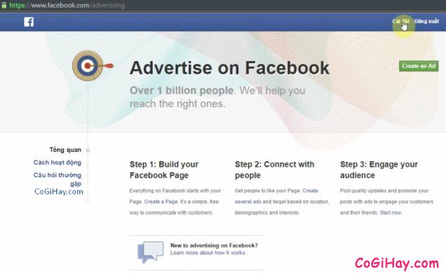 Đăng nhập vào tài khoản Facebook bị chuyển thành trang quảng cáo sẽ thấy thông báo thế này