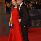 OIC - ENTSIMAGES.COM - Eddie Redmayne and Wife Hannah at the  EE British Academy Film Awards 2016 Royal Opera House, Covent Garden, London 14th February 2016 (BAFTAs)Photo Mobis Photos/OIC 0203 174 1069