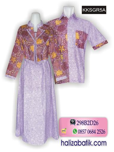 Baju Batik 2015, Batik Sarimbit Modern, Batik Pekalongan, KKSGR5A