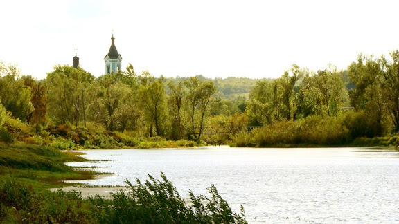 река Уды под Золочевом