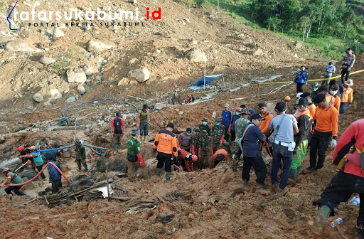 Hasil Akhir Proses Pencarian Korban Longsor Cisolok Sukabumi Hari ke-5, Total 22 Korban Ditemukan