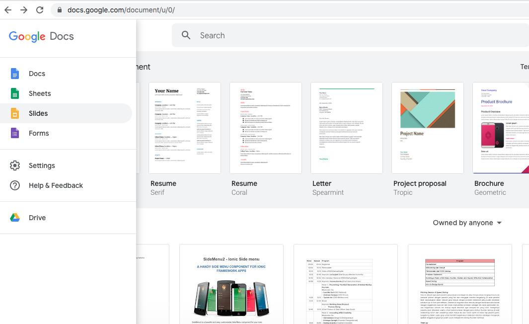 Cara Menggunakan Voice Typing di Google Docs