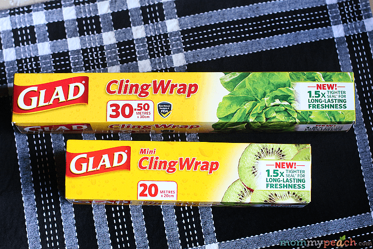 Glad Keeps Our Food Fresh Longer