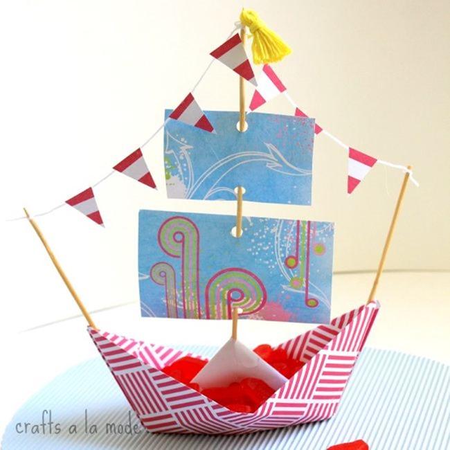 paper boat 10