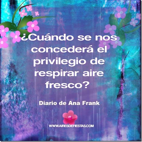 Diario de Ana Frank   AIRESDEFIESTAS  2