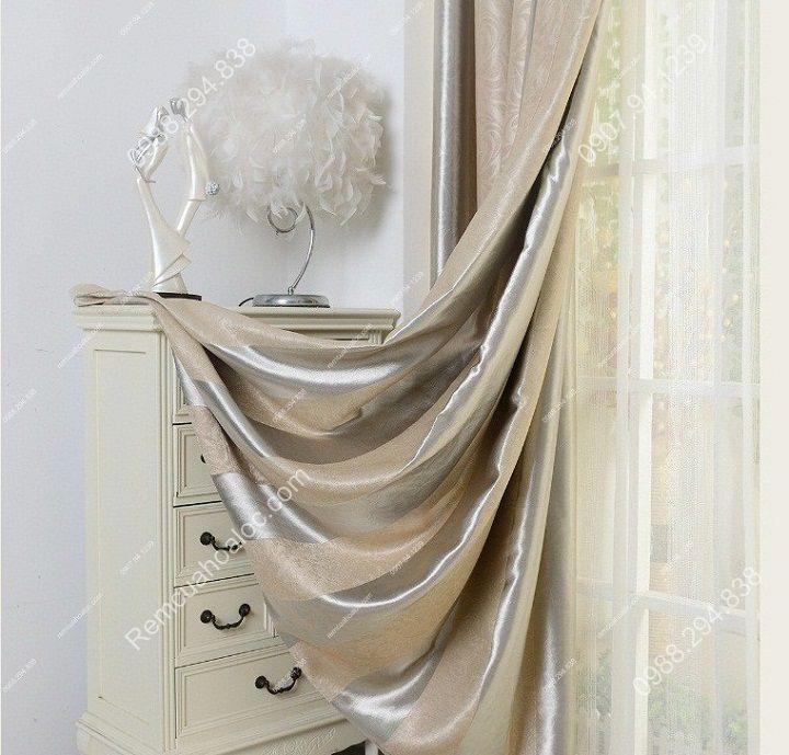 rèm cửa đẹp hà nội một màu kép  14