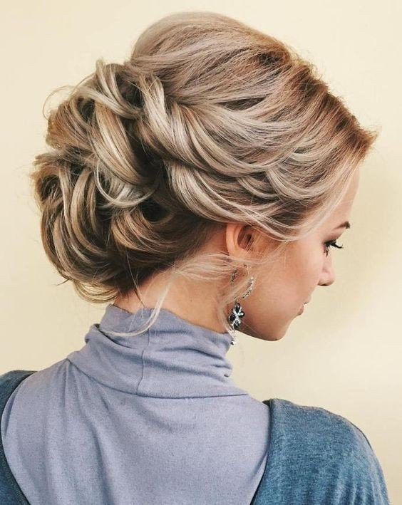 Most Favourite Bun Updo Hair Style Designs Fashion 2d