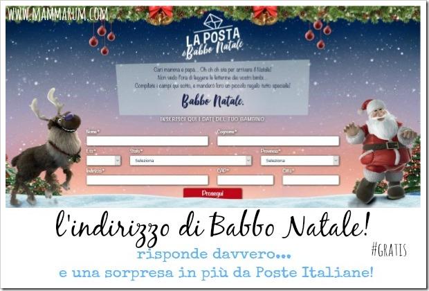 spedire lettera di babbo natale poste italiane