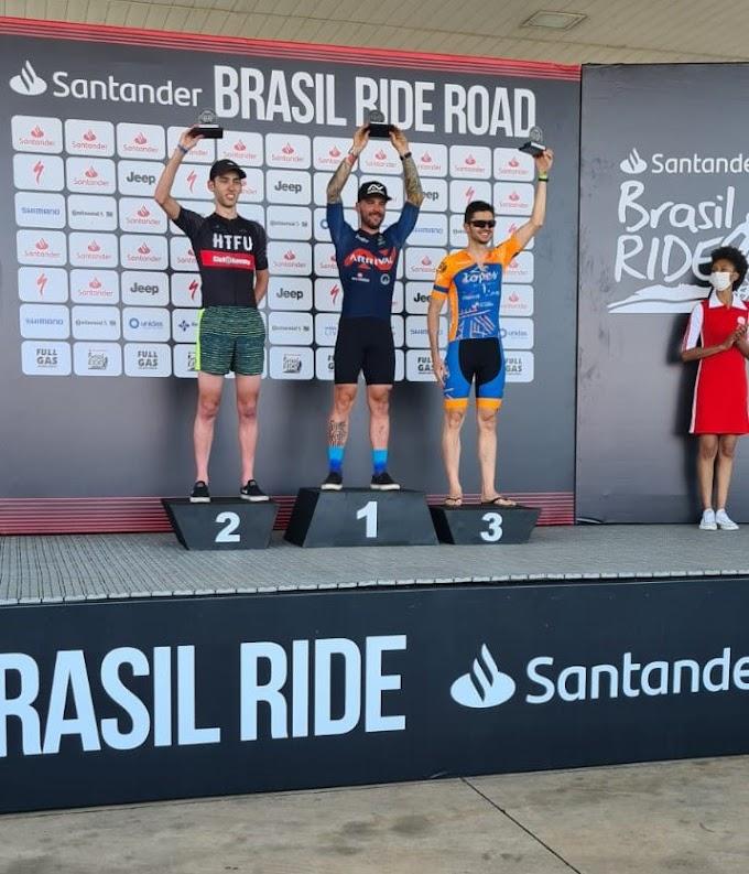 Araçatuba vence e bate recorde no Brasil Ride 2021