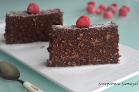 Chocolate Brownies (no butter, no egg)