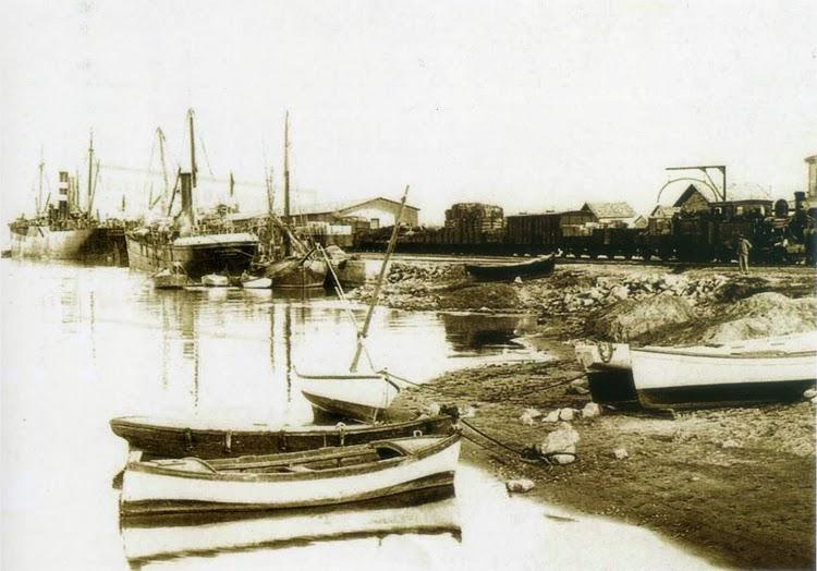 El VILLARREAL en Gandia. Ca. 1900. Foto del libro Historia del Port de Gandia.jpg