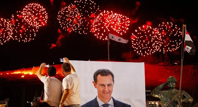 Syria,Bashar Assad,Bashar Assad Wins Syrian Presidential Election With 95.1% of Vote,Syrian President Bashar al-Assad,harbouchanews