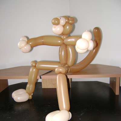 My attempt at Ori Livney's giant monkey