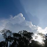 L'orage approche. Entre Rurrenabaque et la Reserva de Biosfera de Pilón Lajas, 28 octobre 2012. Photo : C. Basset