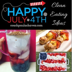 4th of july recipes, clean eating, holiday, July 4