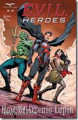 Gracias a Trite que resube el post E.V.I.L. HEROES. Y completamos la serie agregan los 3 numeros faltantes tradumaquetados por ntellez de La Mansion del CRG.