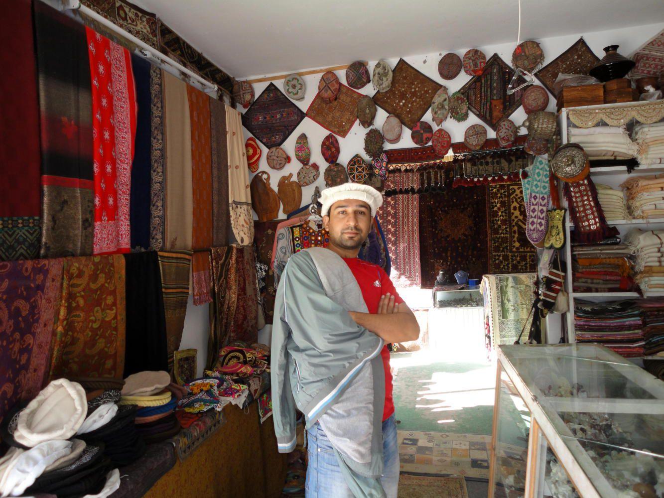 Bazar of Gulmit, Nagar