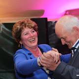 Zilveren bruiloft Lenie en Klaas partytent Hoornsterzwaag