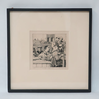 David Itchkawich Signed Etching