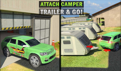 Camper Van Truck Simulator: Cruiser Car Trailer 3D 1.10 screenshots 16