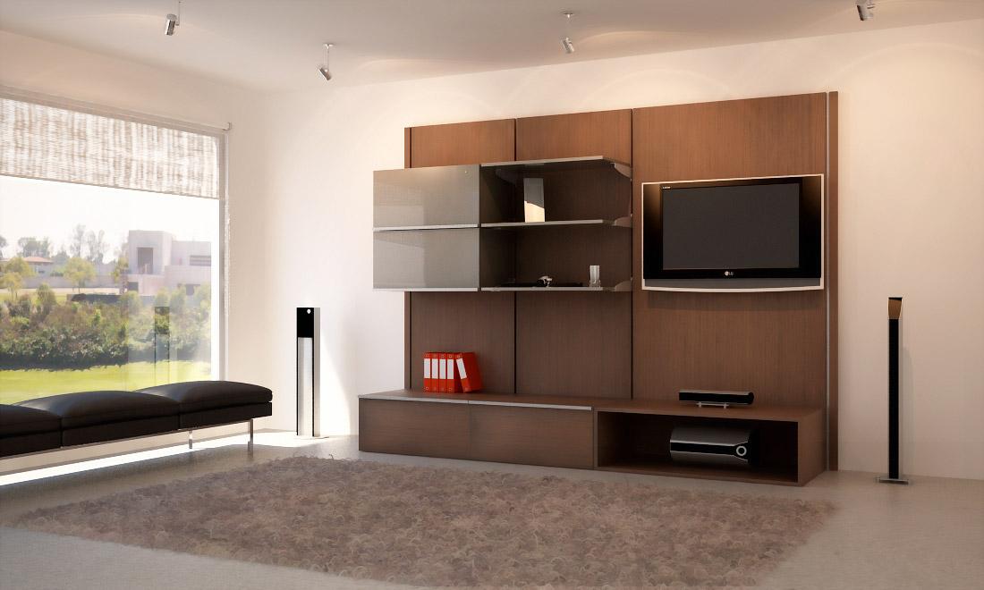 Muebles para tv minimalistas closets orbis - Muebles para tv minimalistas ...