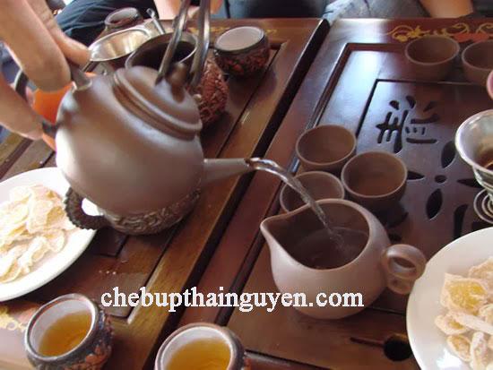 văn hóa uống Trà Thái Nguyên