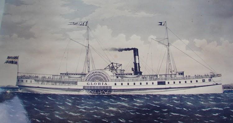 El paddle steamer GLORIA. Foto cedida por el Sr. Jose Claudio Perez Diaz. Nuestro agradecimiento.jpg