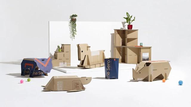 DIY craft ideas using upcycled boxes