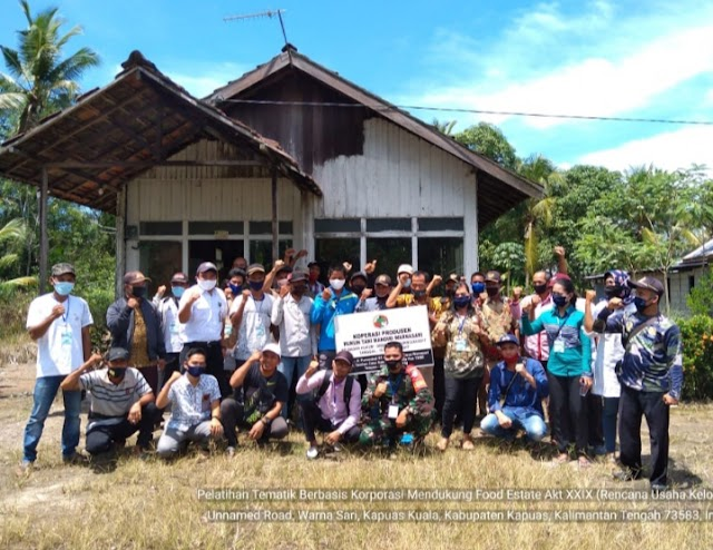 Dukung Korporasi Petani Kecamatan Tamban Catur, BBPP Binuang Gelar Pelatihan Tematik