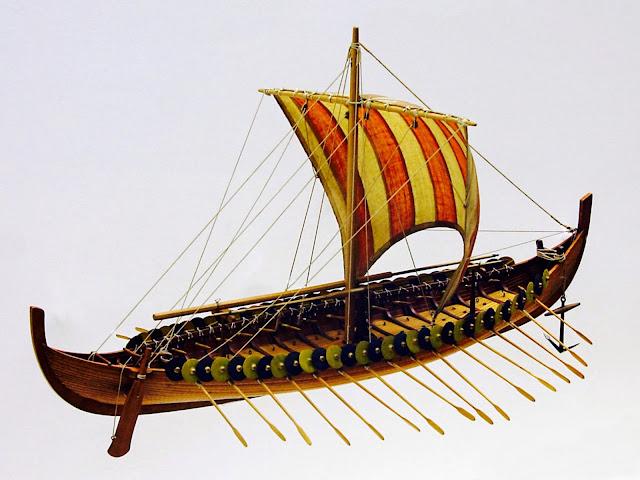 Historia de las civilizaciones: Los drakkar, los barcos vikingos ...