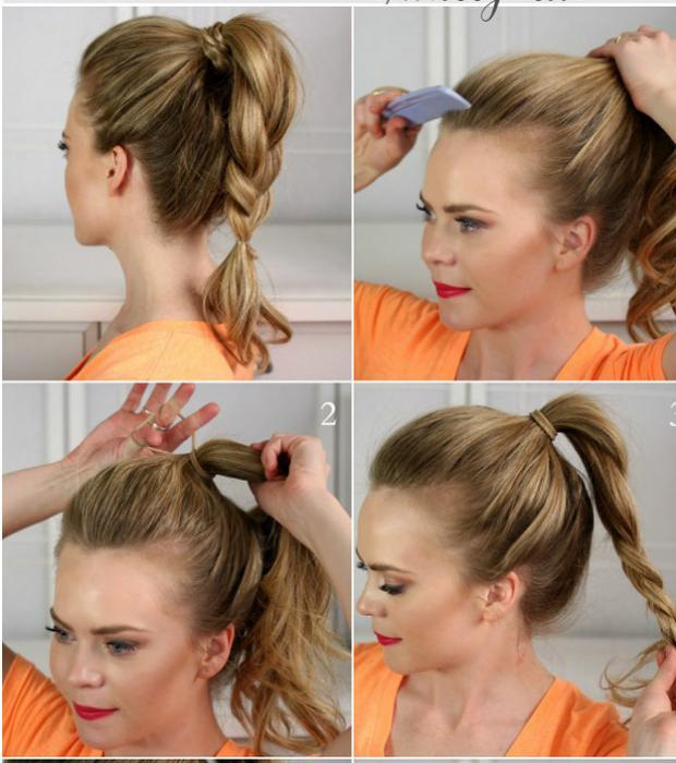 PRETTY HORSETAIL HAIRSTYLES FOR ATTRACTIVE LADY 2