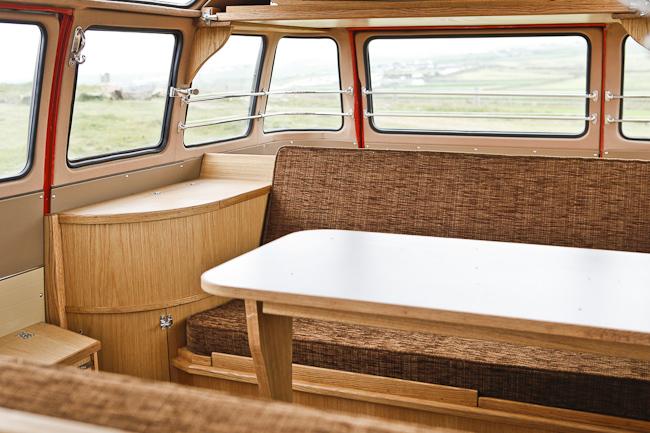 Splitscreen Interiors - VW Camper Interiors - Camper Conversions - Kustom Interiors Cornwall