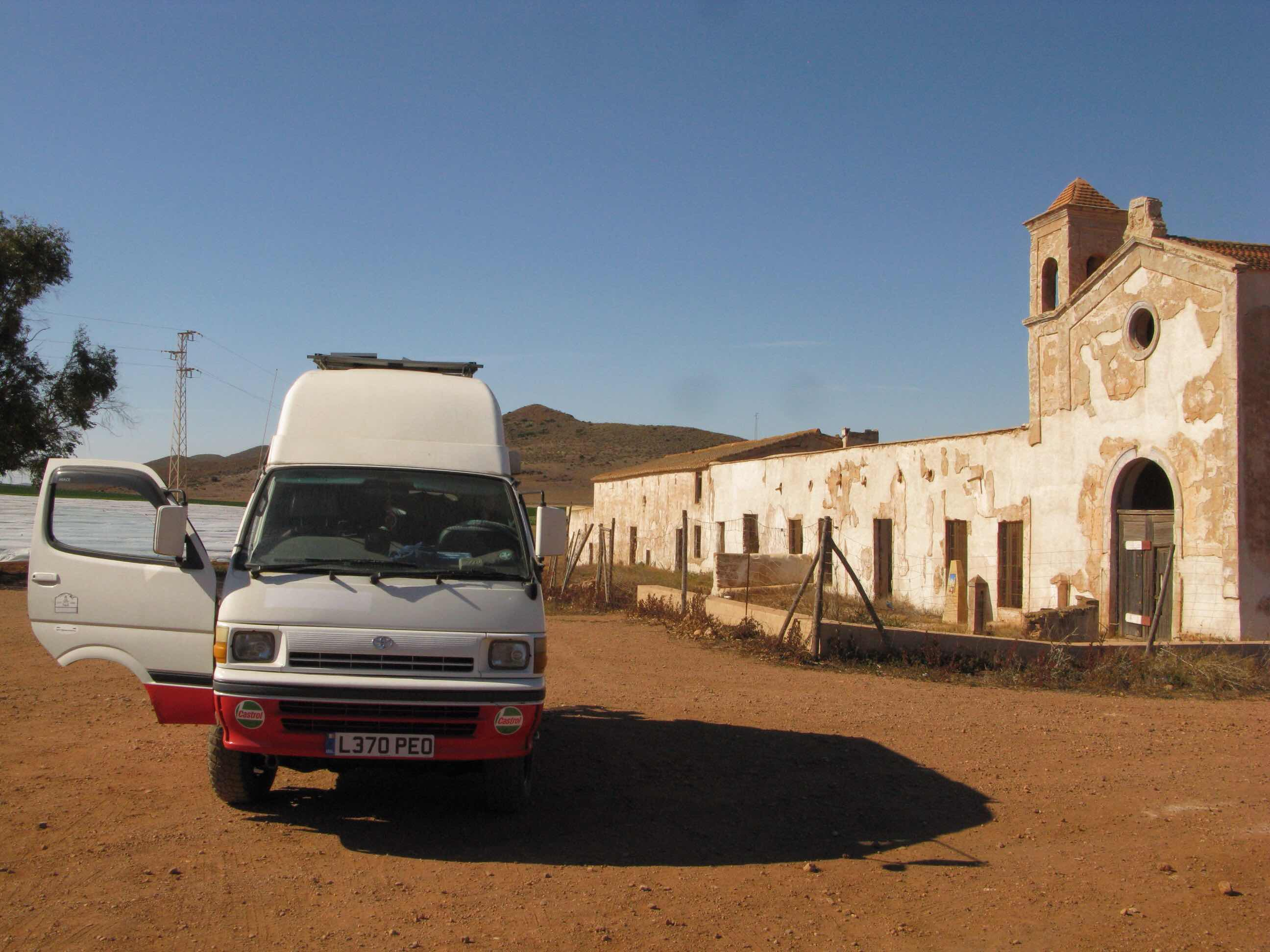 8d8c449491 Hiace Hobo - Living in a Toyota Camper Van  On the Sergio Leone ...