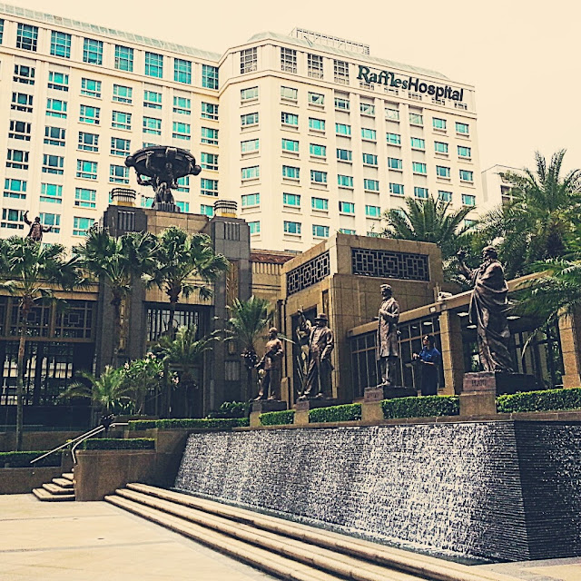 Travel Journal to art deco Parkview Square Singapore by ServicefromHeart