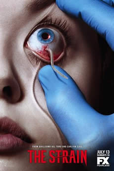 capa The Strain 1ª Temporada