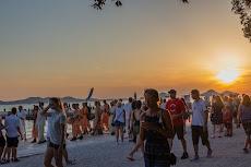 Lots of tourists in Zadar