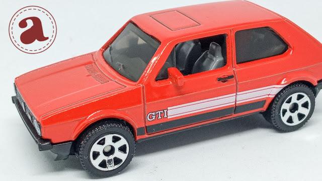 TAMPAK SAMPING MATCHBOX GERMANY - 1976 VW GOLF MK1