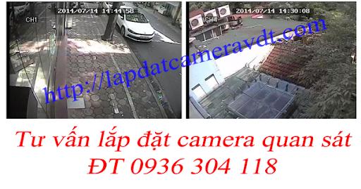 sửa chữa các loại camera quan sát tại nhà