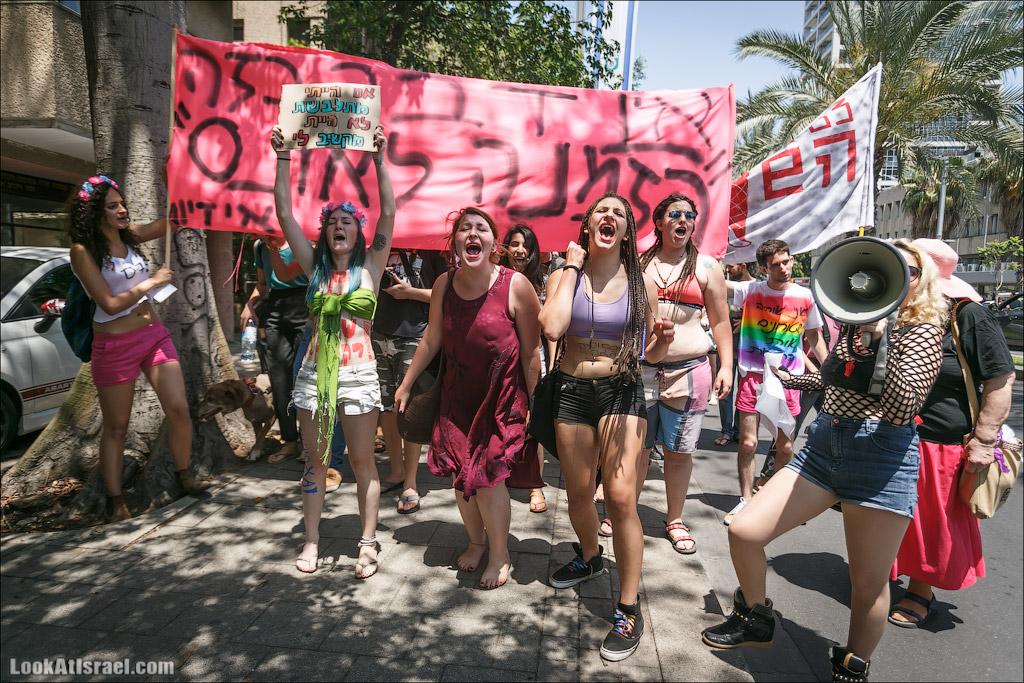 LookAtIsrael.com: Марш шлюх, сэр (israel  тель авив театр габима площадь Рабина люди выставки музеи фестивали )