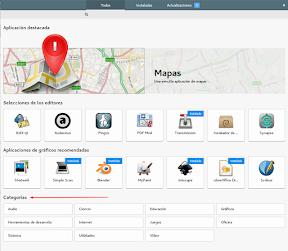 Instalar aplicaciones en Ubuntu GNOME y otros sabores Software Center. Categorías.
