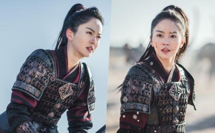Kim So Hyun Jadi Fierce Warrior