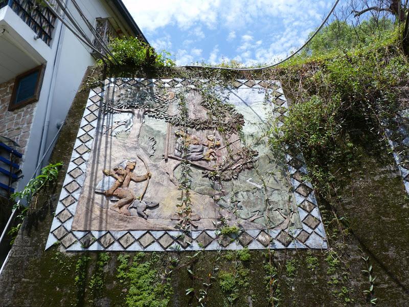 Puli  en passant , entre autres, par les villages de l ethnie Bunum de Loloko et Dili. J 10 - P1160878.JPG
