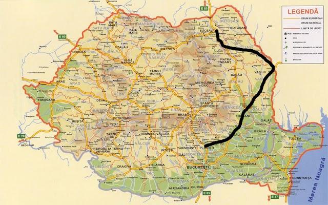Autostrada Ploieşti - Albiţa - Suceava, duda pregătită pentru campania de anul viitor