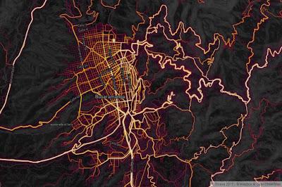 Rutas más populares en Bucaramanga de acuerdo a la aplicación Strava